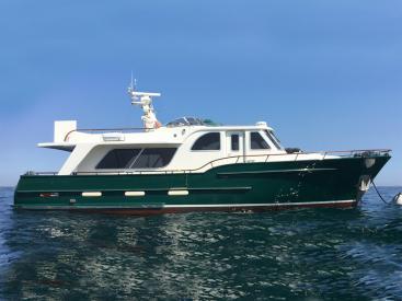 Searocco 1500 Trawler - En mer