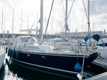 AYC Yachtbroker - Trintella 44 Aluminium - Au ponton