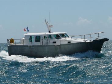 AYC Yachtbroker - Trawler Meta King Atlantique - En navigation