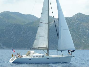 Universal Yachting 49.9 - Sous voiles