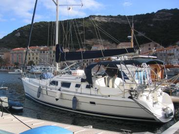 Hunter 426 DS - Au ponton