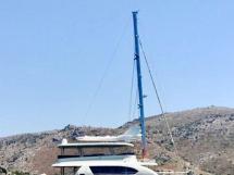 NG 66' Catamaran - Au mouillage