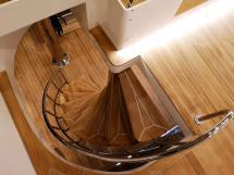 NG 66' Catamaran - Escalier de flybridge