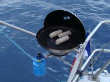 Bi-Loup 36 - Barbecue sur balcon arrière
