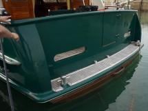 Searocco 1500 Trawler - Plage arrière teck