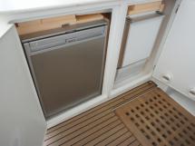 Réfrigérateur et ice-maker (cockpit)