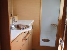 Coque propriétaire : salle d'eau et douche séparée