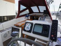 Electronique sur poste de barre tribord