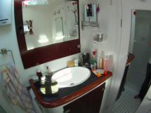 salle de bain propriétaire, douche séparée