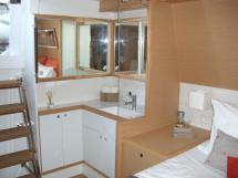 Cabine Propriétaire - lavabo