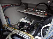 Cale moteur tribord