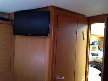 Ecran plat cabine propriétaire