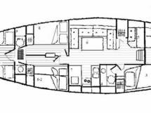 ISLANDER 55 - Plan amenagement