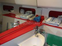Salle d'eau tribord