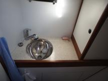 Lavabo salle d'eau arrière