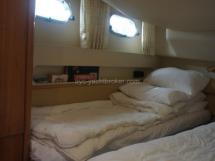 Cabine deux lits simples