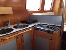 Trawler Méta King Atlantique - Ayc - Coin cuisine