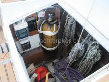 Coffre de cockpit tribord