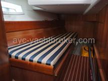 Cabine arrière tribord (lit simple)