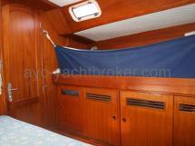 Cabine avant - couchette de mer