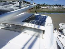 Panneaux solaires sur le rouf