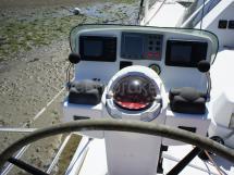 Poste de barre bâbord