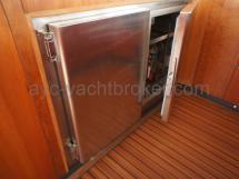 Double réfrigérateur 100l
