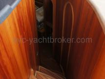 Descente cabine arrière bâbord
