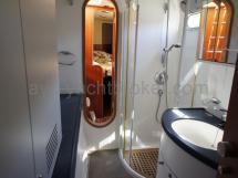 Salle de bains coque tribord