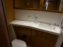 Salle d'eau de la cabine bâbord