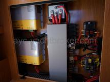 Répartition électrique et chargeurs Cristec 40A (x2)