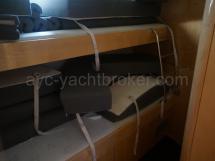 Cabine à couchettes superposées