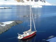 Garcia Salt 57 - Au mouillage dans les glaces