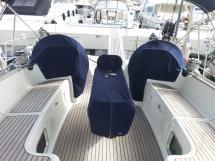 Sun Odyssey 54 DS - Cockpit et postes de barre