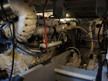 MERIDIAN 411 Sedan - Cale moteur
