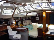 AYC Yachtbroker - Gael 43 - Carré transformable lit double