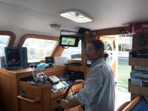 AYC Yachtbrokers - Trawler Meta King Atlantique - Poste de barre