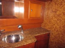 Dufour 50 Prestige - Salle d'eau arrière