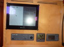 écran à la table à carte