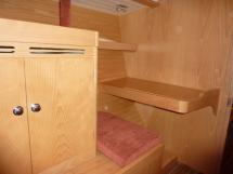 bureau de cabine arrière