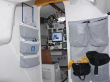 cabine arrière Tbd - nombreux rangements textiles