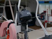 META JPB 35 - Barres franches et moteur hors bord