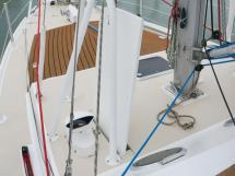 META JPB 35 - Dérive sabre latérale bâbord et balcon de mât