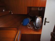 Cabine arrière tribord (moteur d'annexe)