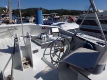 Trawler Méta King Atlantique - Ayc - Poste de pilotage extèrieur