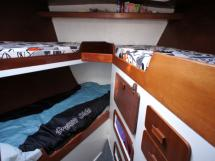 Cabine avant (3 couchages)