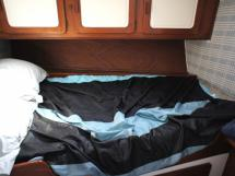 Cabine centrale babord (couchage double)