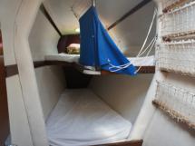 Cabine avant babord (couchettes superposées)
