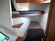 Cabine avant tribord (couchettes superposées)