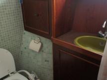 Salle de bain tribord (douche et WC)